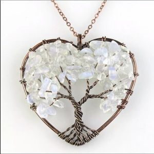 Tree of Life Amethyst Pendant Necklace